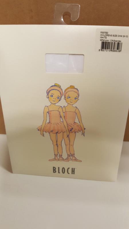 BLOCH Footed children white