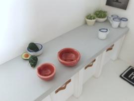 Keuken | keramiek schaaltje | groot