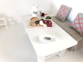 "Kitchen | tableware | plate ""Food"""