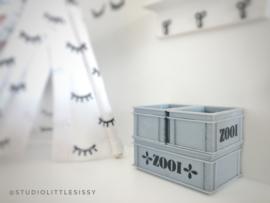 Kinderkamer | 3D | opruimbak XS Grijs