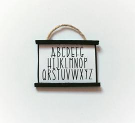 """Posters & kaarten   Poster """"alfabet"""""""