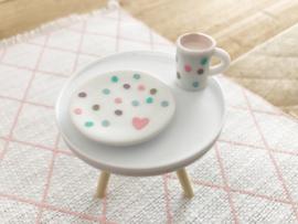Keuken | serviesset | pastel dots