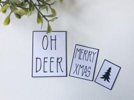 Feestdagen | Kerst | 3 Posters