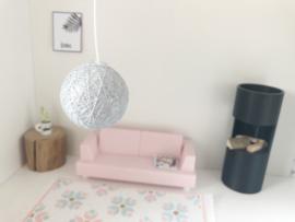 Lampen en Lichtsnoeren | Hanglamp | Cotton Balls | licht grijs
