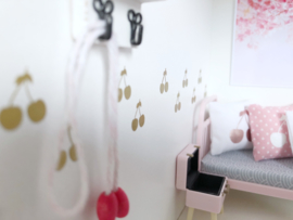 Kinderkamer | Mini sticker | Cherries