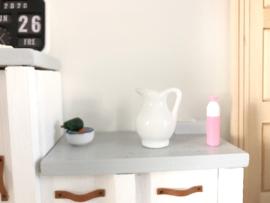 Keuken | karaf | wit