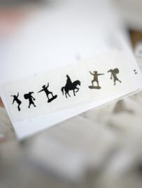 Feestdagen | Sinterklaas | Sticker | Sint & pietjes
