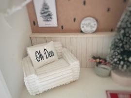 Feestdagen | Kerst | Kussen  4 x 5 cm | Oh Deer
