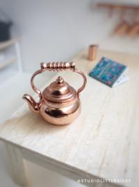Keuken | koperen fluitketel | 2 cm