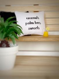 Textiel | kussens | 4 x 5 cm | coconuts....