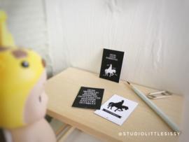Feestdagen | Sinterklaas | 3 x Mini kaarten