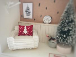 Feestdagen | Kerst | Kussen  4 x 5 cm | kerstboom