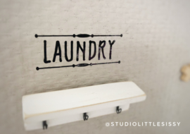 Badkamer | Sticker | Laundry