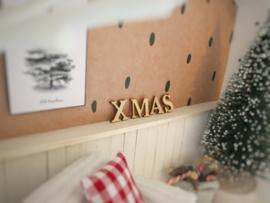 Feestdagen | Kerst | houten letters | Xmas