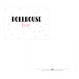Posters & kaarten |Dollhouse love