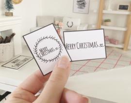 Feestdagen | Kerst | 2 Merry Christmas Posters