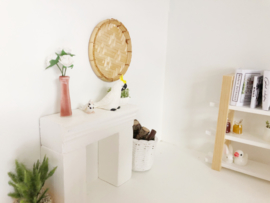 Livingroom | Flowers & Plants | square | terra vase with pink flowers