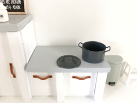 Keuken | Grijze Soeppan  | 3 cm
