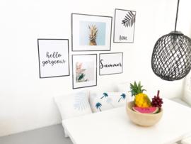 Wanddecoratie | Posters | DIY | summer