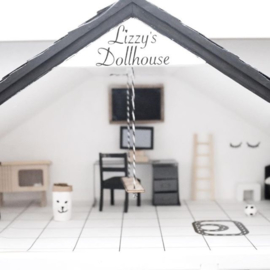 Dollhouse Namesticker | Medium | Savoye