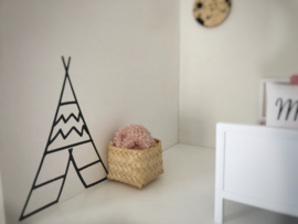 Kinderkamer | Mini sticker | Tipi