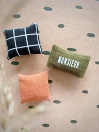Textiel | kussens | 3 x 5 | Monsieur