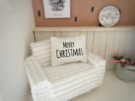 Feestdagen | Kerst | Kussen  4 x 5 cm | Merry Christmas