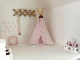 Mini-Tipi 18cm | zacht roze