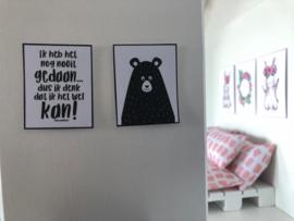 Wanddecoratie | Posters | Beer van Project-3