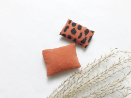 Textiel | beddengoed | 1 persoons | roestbruin