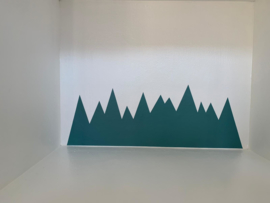 Vloeren & wanden | sticker | Mountains
