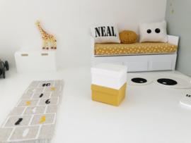 Werkkamer | opbergbox | wit