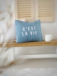 Textiel | kussens | 4 x 5 | C'est la vie
