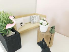 Woonkamer | bloemen & planten | flamingo