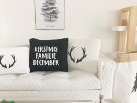 Feestdagen | Kerst | Kussen 4 x 5 cm | Gewei