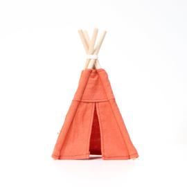 Kinderkamer | Mini-Tipi 18cm | roest bruin