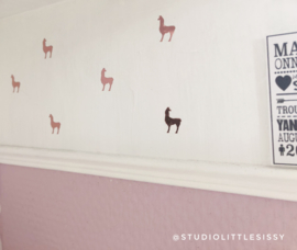 Kinderkamer | Mini stickers | lama's