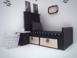 Textiel | slaapkamer | Kussentje  | 4 x 5 cm | Panter print