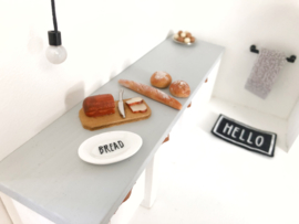 "Kitchen | tableware | plate ""Bread"""