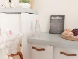 Keuken | waterfles | roze