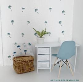 Algemeen | Dollhouse muurstickers | palmboompjes
