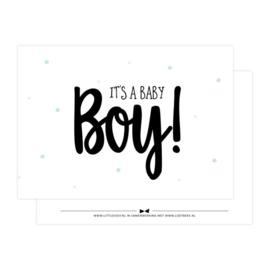 It's a baby Boy!