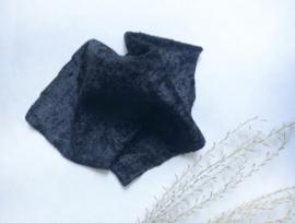 Textiel | beddengoed | 2 persoons sprei | zwart velours