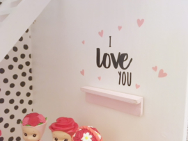 Kinderkamer | Mini sticker | I love you