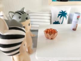 Keuken | koperen bakvorm | bloem.