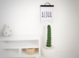 Woonkamer | Flag Poster | Aloha
