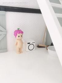 Bathroom |washing machine | white