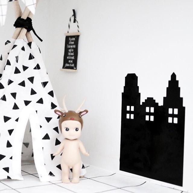 Slaapkamer | Mini sticker | Grachtenpand