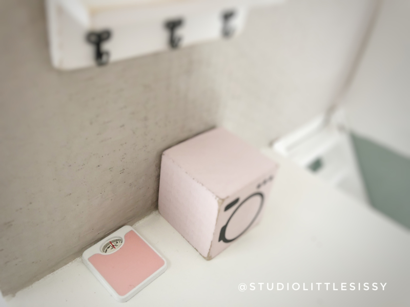 Badkamer | Weegschaal | roze