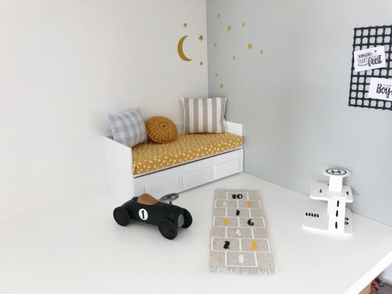 Slaapkamer   Vloerkleed hinkelbaan   jongens